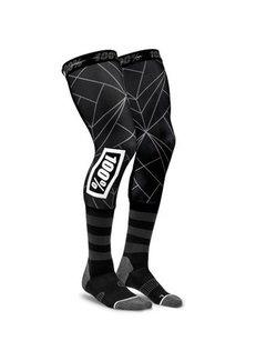 100 % Kniestrümpfe REV Knee Brace Performance Moto Socken schwarz