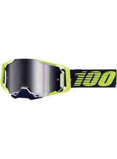 100 % Armega MX Enduro Brille Deker blau gelb