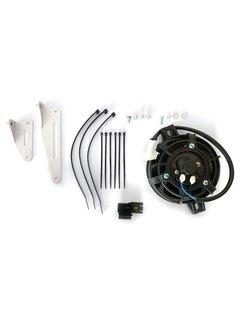X-Grip Radiator Fan Full Kit Lüfter Set für KTM EXC-F Husqvarna TEi FE,  GasGas