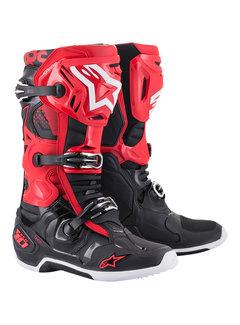 Alpinestars Stiefel Tech 10 schwarz rot