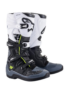 Alpinestars Stiefel Tech 5 schwarz grau weiss
