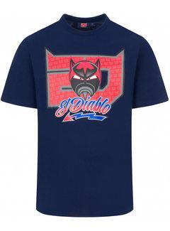 Yamaha Fabio Quartararo T-shirt El Diablo 20 Graphic
