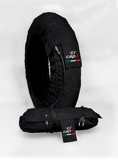 Capit Reifenwärmer Suprema Spina schwarz für 100/90-12 bis 130/80-12