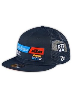 Troy Lee Designs Snapback Kinder Cap Team KTM navy