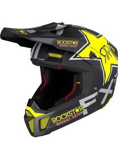 FXR Helm Clutch Rockstar schwarz gelb