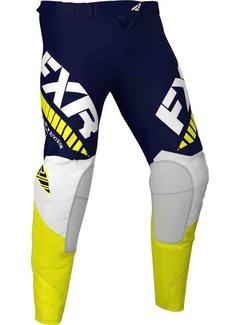 FXR Revo MX Gear Motocross Hosen navy gelb weiss