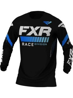 FXR Revo MX Gear Motocross Jersey schwarz blau