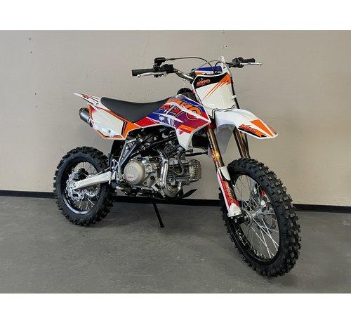 """Kayo Dirtbike TT190R mit 14/17"""" Räder voll einstellbares Fahrwerk"""