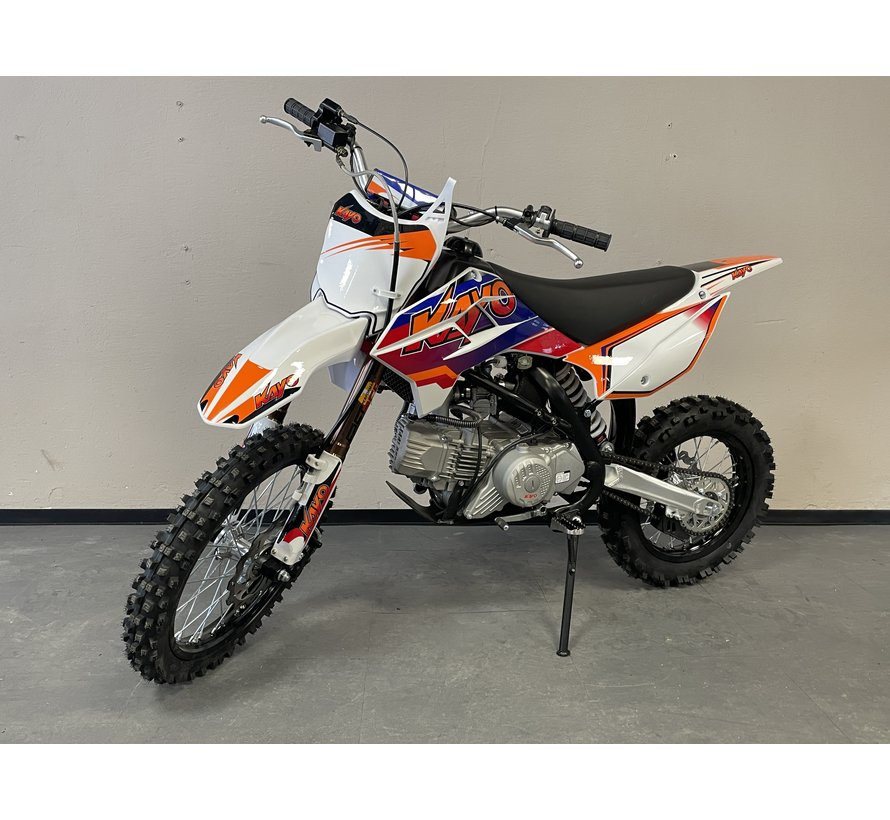 """Dirtbike TT190R mit 14/17"""" Räder voll einstellbares Fahrwerk"""