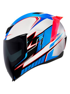 Icon Airflite ™ Helm Ultrabolt Glory Blue| Red| White
