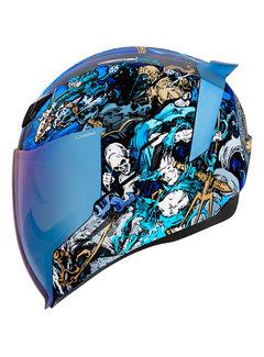 Icon Airflite ™ Helm 4 Horsemen blau