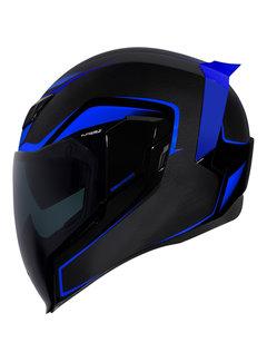 Icon Airflite ™ Helm Crosslink blau