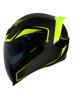 Icon Airflite ™ Helm Crosslink hi-vis - schwarz