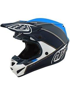 Troy Lee Designs Helm SE4 Polyacrylite MIPS Beta white gray