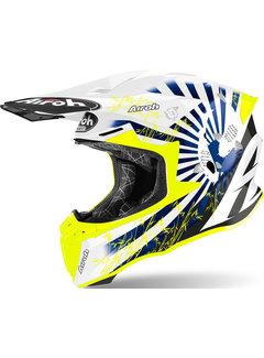 Airoh Twist 2.0 Katana blau glänzend Motocross Helm