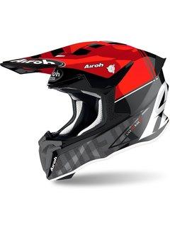 Airoh Twist 2.0 Tech rot Motocross Helm
