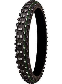 Mitas Reifen vorne 90/90-21 TT C-19/54R grüner Streifen
