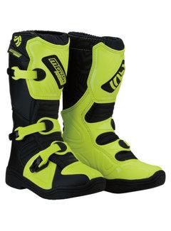 Moose Racing Kinder Offroad Cross Stiefel M1.3 Neongelb schwarz