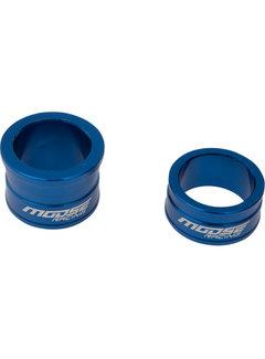 Moose Racing Distanzbuchse vorne für Yamaha YZ125 YZ250 YZ250F YZ450F / Fantic XX125 blau