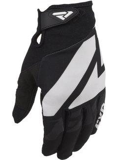 FXR Clutch Strap MX Gear Motocross Handschuhe schwarz weiss