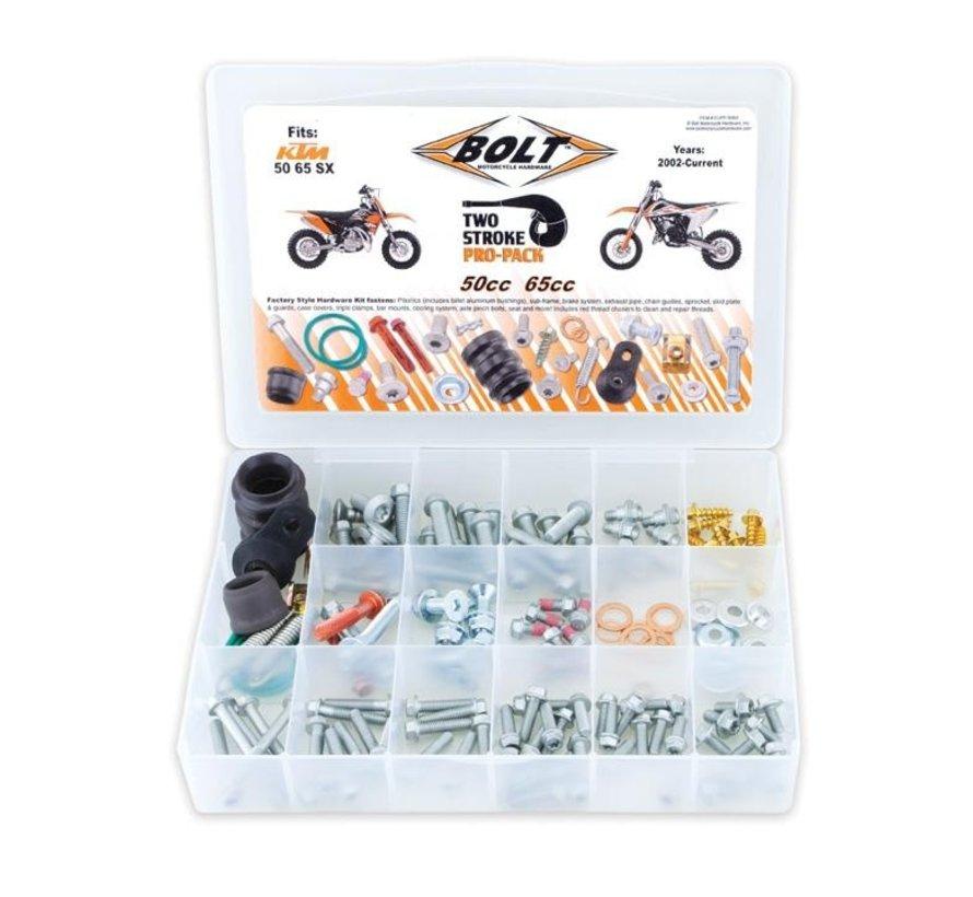 Schrauben Set für KTM SX50 SX65 2 Takt