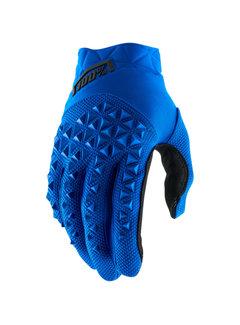 100 % Airmatic Handschuhe blau schwarz