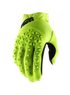 100 % Airmatic Handschuhe fluo neongelb schwarz