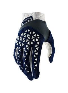 100 % Airmatic Handschuhe navy weiss
