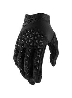 100 % Airmatic Kinder Handschuhe schwarz