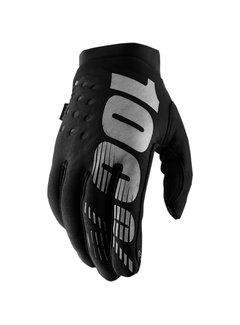 100 % Damen Winterhandschuhe Handschuhe Brisker schwarz