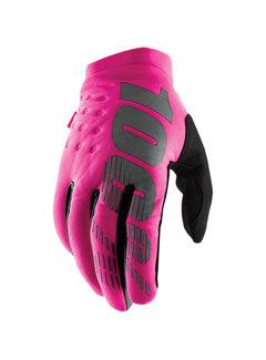 100 % Damen Winterhandschuhe Handschuhe Brisker pink