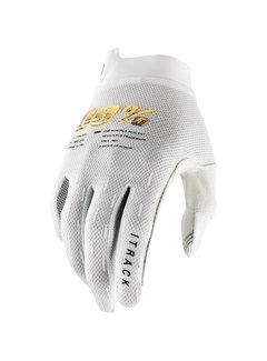 100 % Handschuhe iTrack Gloves weiss