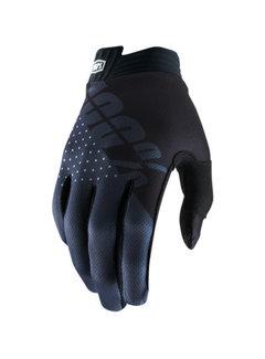 100 % iTrack Handschuhe schwarz charcoal