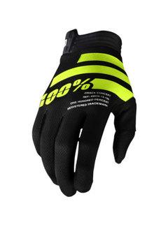 100 % iTrack Handschuhe schwarz neongelb