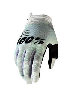 100 % iTrack Handschuhe weiss Camo