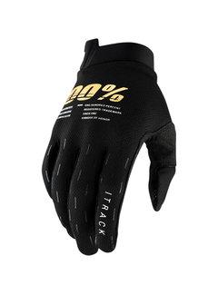 100 % Handschuhe iTrack Gloves schwarz