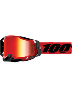 100 % Racecraft 2 MX Enduro Brille rot