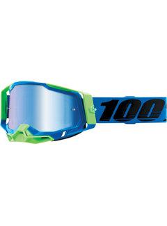 100 % Racecraft 2 MX Enduro Brille Fremont blau grün