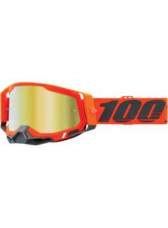 100 % Racecraft 2 MX Enduro Brille Kerv orange