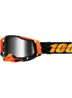 100 % Racecraft 2 MX Enduro Brille Costume 2 orange schwarz