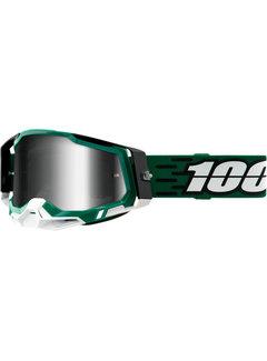 100 % Racecraft 2 MX Enduro Brille Milori grün
