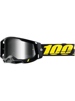 100 % Racecraft 2 MX Enduro Brille Arbis schwarz gelb
