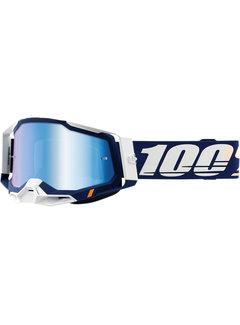 100 % Racecraft 2 MX Enduro Brille Concordia blau weiss