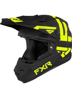 FXR Kinder Helm Legion schwarz neongelb