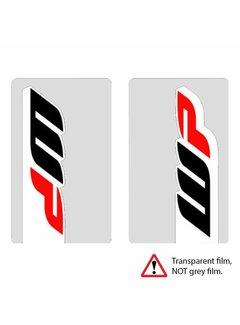 4MX Stickerset Gabel Aufkleber Fork Decal WP transparent - NEW
