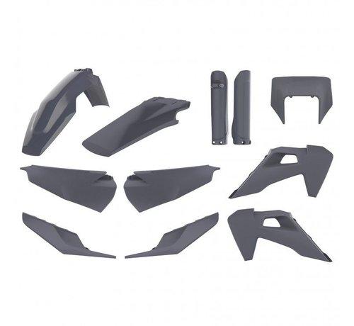 Polisport Plastik Full Kit grau Husqvarna FE TE ab 125cc  ab Bj. 2020-