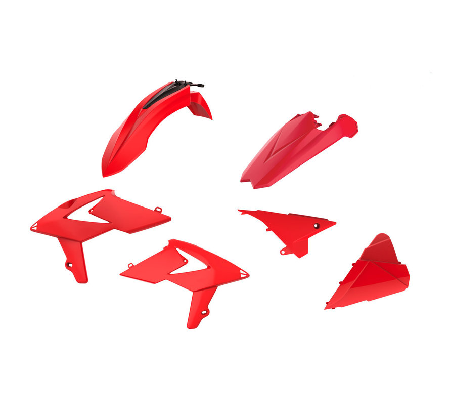 Plastik Satz Beta RR 125 200 250 300 390 430 480 BJ. 18-19 rot
