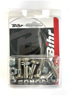 Bihr Kettenradschrauben Sicherheitsschrauben Kit für Kettenrad M8x1.00 30 mm