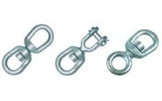 Swivels galvanized