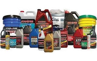 Oil, coolant & fluids